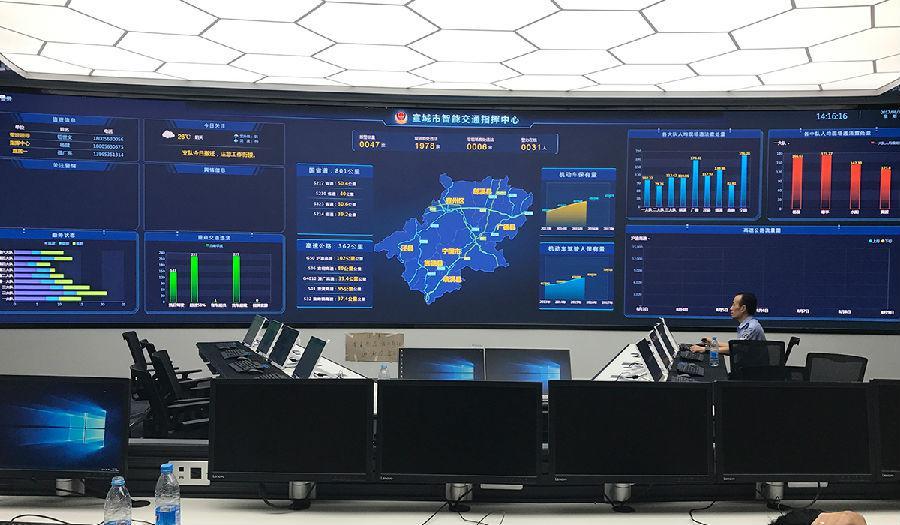 安防監控led顯示屏,led安防監控屏,小間距led顯示屏,led監控顯示屏圖片